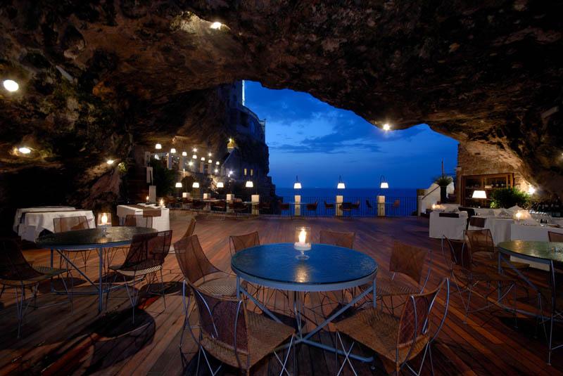 Εστιατόρια ...σε σπηλιά, Restaurant Design