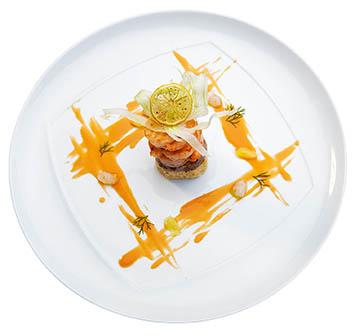 Το εστιατόριο Xasteria του Grecotel Amirandes,  xasteria-plate