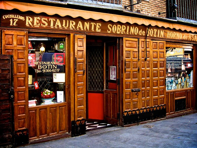 παλαιότερα εστιατόρια της Ευρώπης, BOTIN IN MADRID, SPAIN (3)