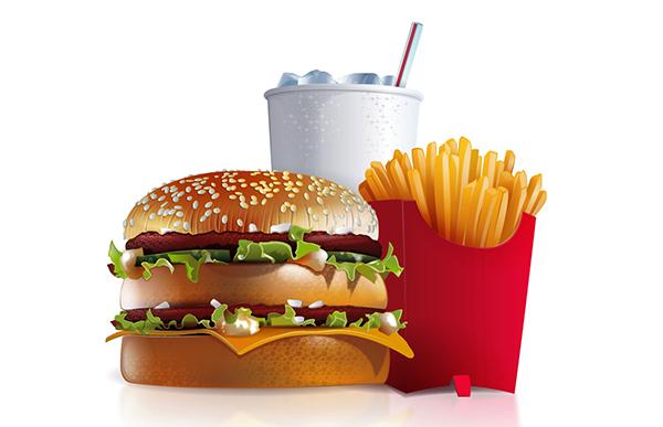 Ακόμη και η συσκευασία στα fast food είναι ανθυγιεινή