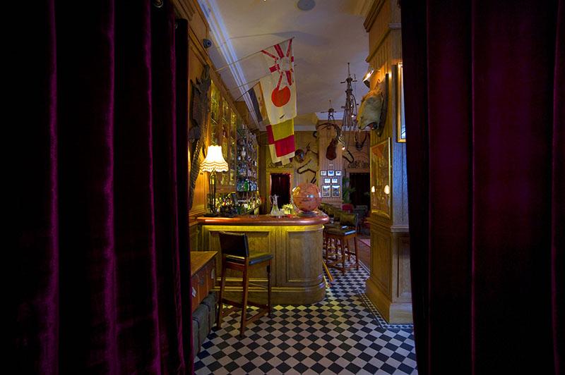 Mr Fogg's Bar design, London , Entrance