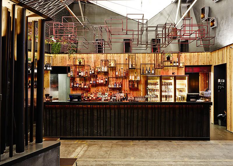 Howler Arts Hub and Bar, HOWLER FRONT BAR DETAIL 1