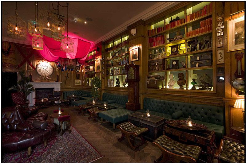 Mr Fogg's Bar design, London