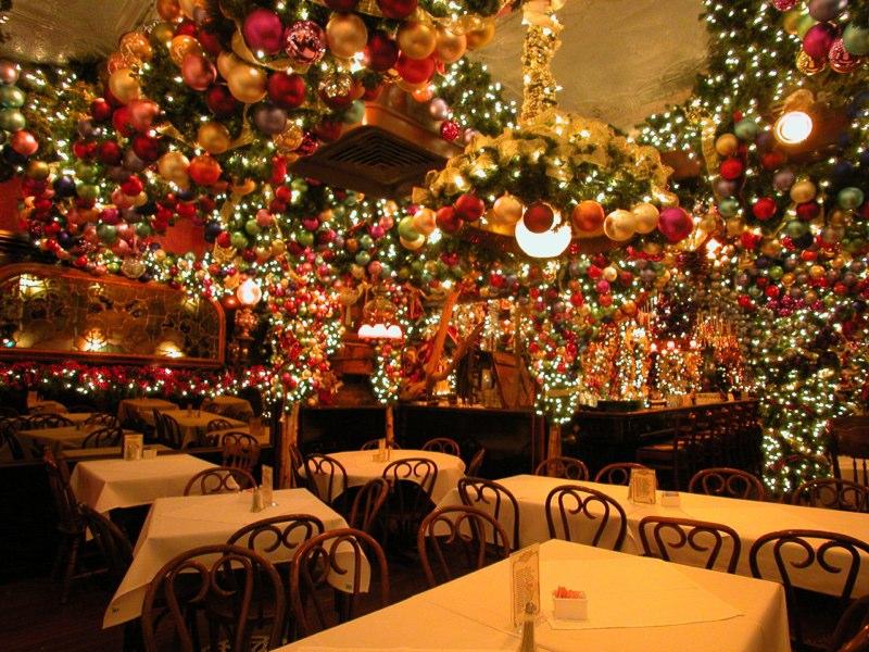 Εστιατόριο της Νέας Υόρκης ξοδεύει 60.000 δολάρια για στολισμό κάθε Χριστούνεννα