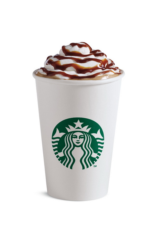 Starbucks Burnt Caramel Latte_cup