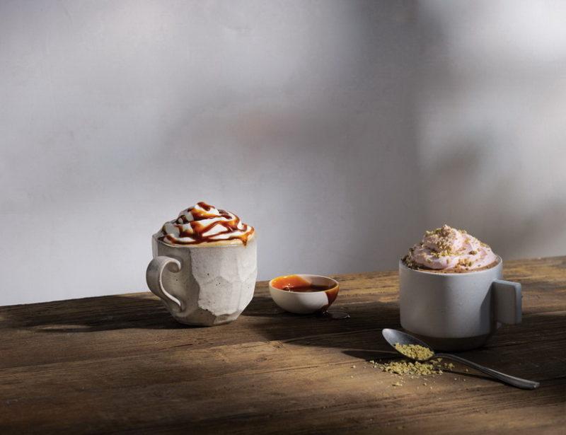 Starbucks_Burnt Caramell Latte_Pistachion Rose Mocha_Duo I