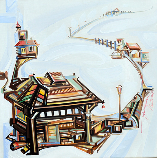 Gabriel Grama-Architectural passages