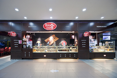 Brioche Doree, Henri Coanda International Airport