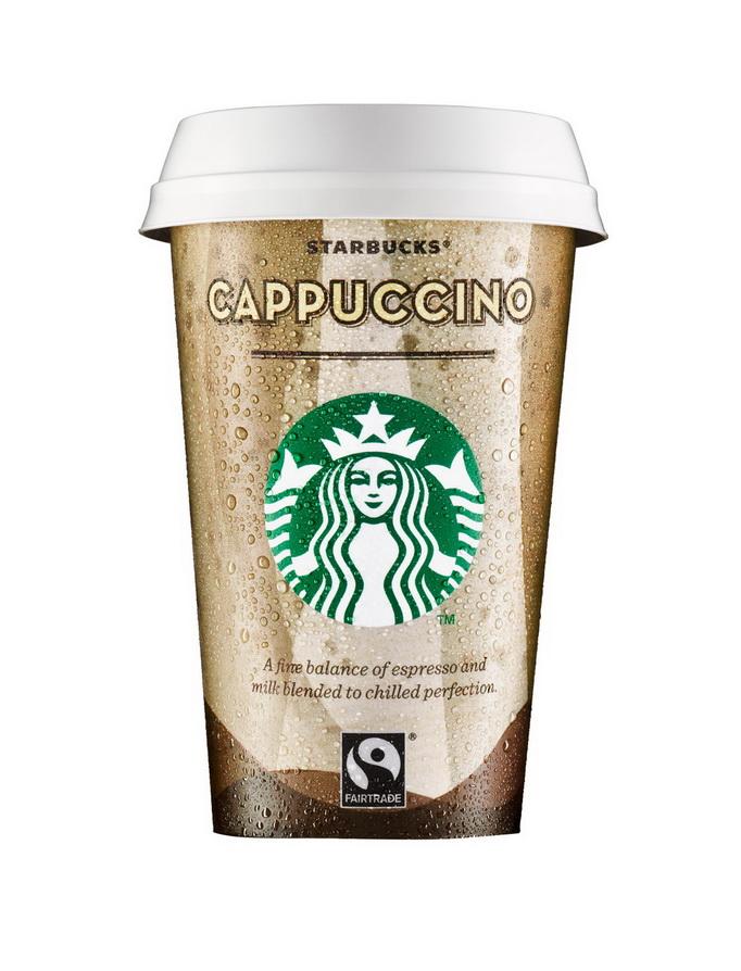 Starbucks Chilled Cappuccino