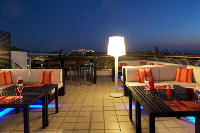 Lounge Pool Bar -Novotel Athenes