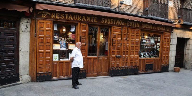 Το παλαιότερο εστιατόριο στον κόσμο από το 1725