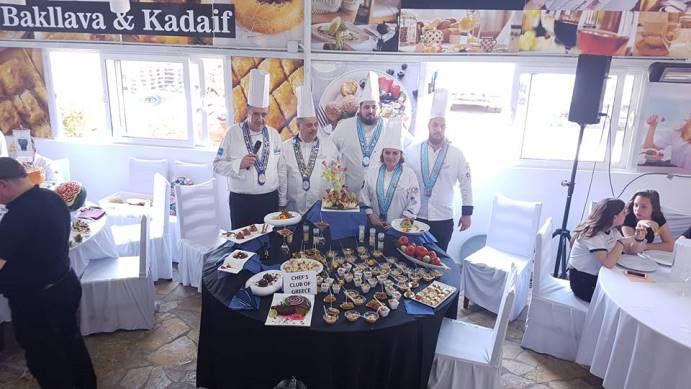 Ελληνική αποστολή στο PANAIRI PROFESSIONAL NERANXI 2018 στα Τίρανα από μέλη της Λέσχης Αρχιμαγείρων Ελλάδος