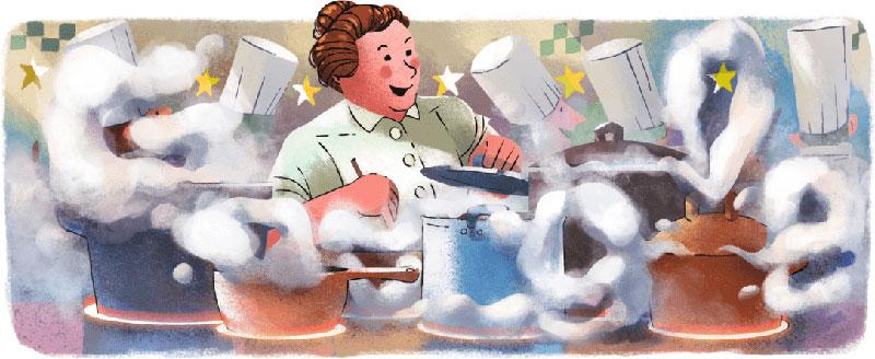 Eugénie Brazier: Στο doodle της Google η πρώτη chef που κέρδισε 3 αστέρια Michelin