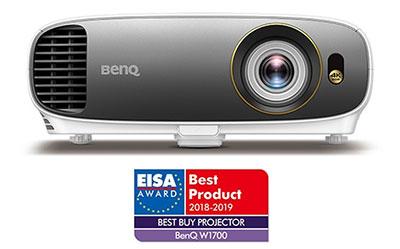 Βραβείο EISA για τον βιντεοπροβολέα BenQ W1700