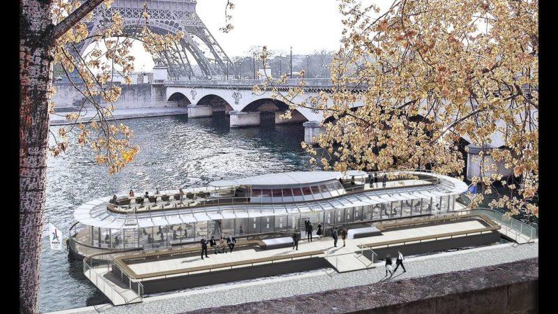 Ο Alain Ducasse ανοίγει πλωτό εστιατόριο στο Παρίσι