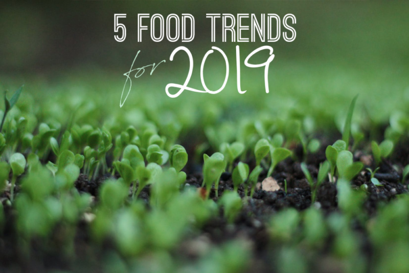 FOOD & DRINK TRENDS