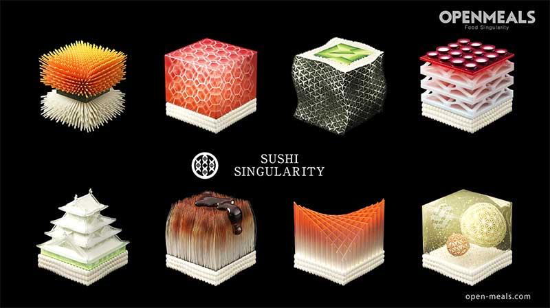 3D printed sushi: βασισμένο στα biodata του πελάτη