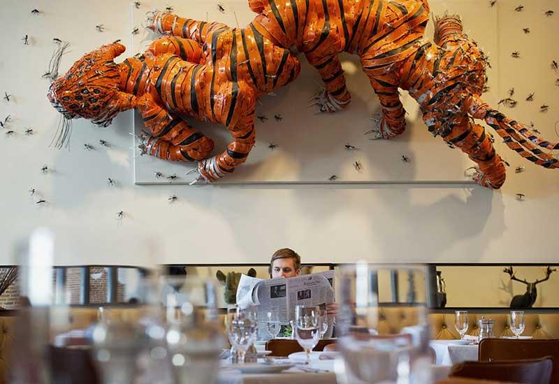 DESIGN με ΧΡΩΜΑ: Πολύχρωμα Εστιατόρια και Μπαρ Ξενοδοχείων