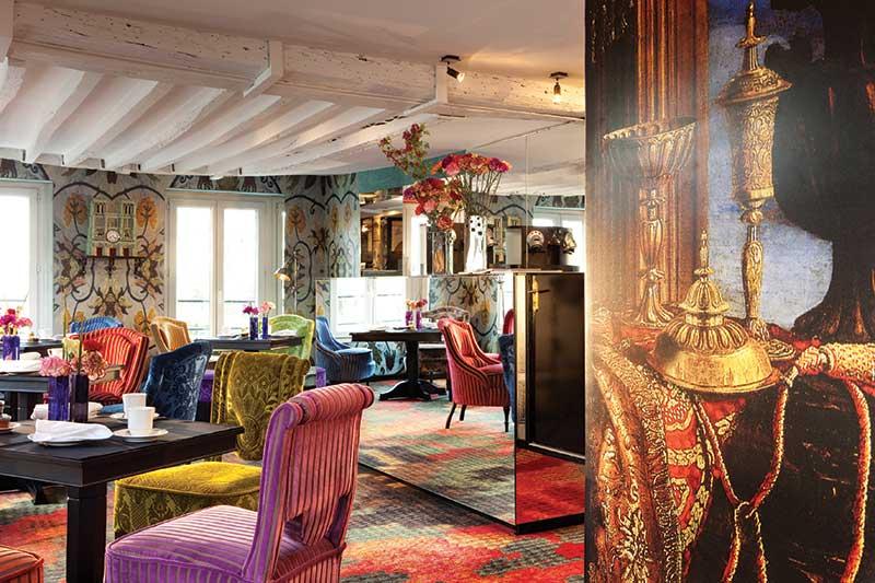 DESIGN με ΧΡΩΜΑ: Πολύχρωμα Εστιατόρια και Μπαρ Ξενοδοχείων Vol1