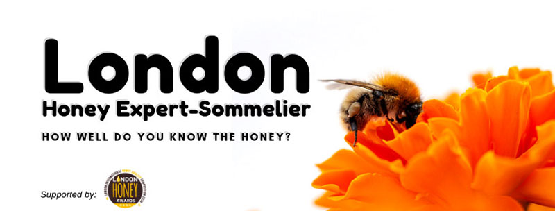 Πιστοποίηση Honey Sommelier στο Λονδίνο / 12 - 15 Νοεμβρίου 2019