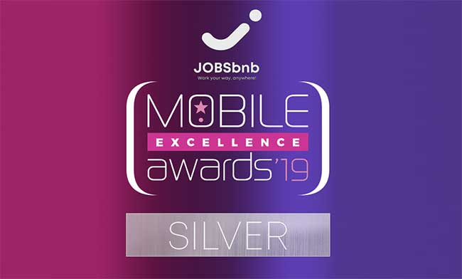 Σημαντικές διακρίσεις για τη JOBSbnb στα Mobile Excellence Awards 2019!