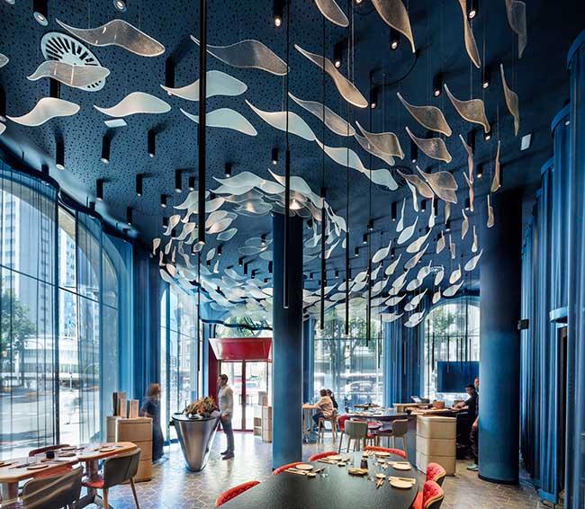 Tunateca Balfegó: Όταν ένα υλικό μαγειρικής εμπνέει το design του εστιατορίου!