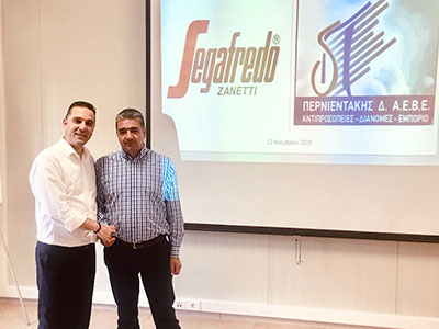 Έναρξη συνεργασίας της Segafredo Zanetti Ελλάς Α.Ε. με την ΠΕΡΝΙΕΝΤΑΚΗΣ Δ. ΑΕΒΕ