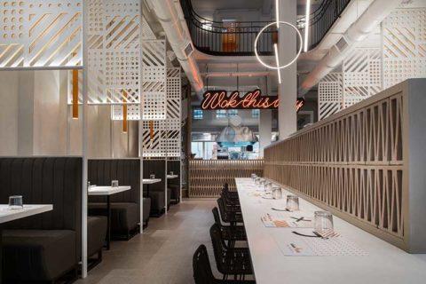 Μετατροπή διατηρητέου κτιρίου σε σύγχρονο ασιαστικό εστιατόριο στη Θεσσαλονίκη