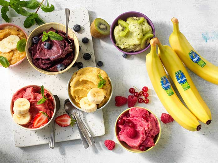 Ιταλικό παγωτό και παγωτό vegan με μπανάνα- για όλα τα γούστα των πελατών σας!