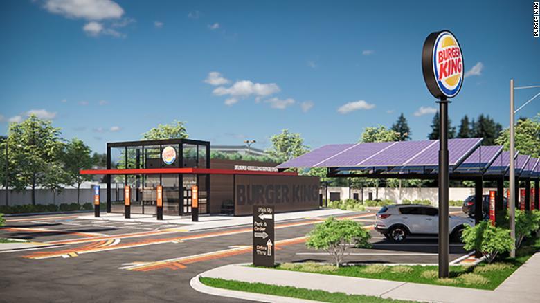 Πώς θα είναι τα Burger King του μέλλοντος;