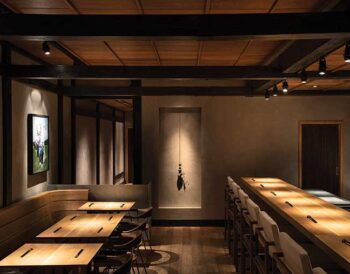 HIROKI: Η Ιαπωνική κουζίνα συμπληρώνεται με το Βιομηχανικό design