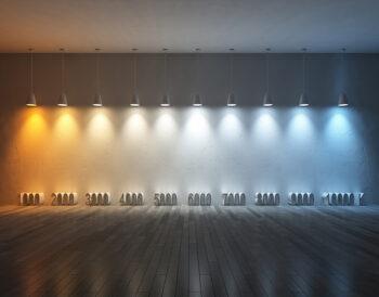 Τι είναι η θερμοκρασία χρώματος & πώς μπορούμε να την εκμεταλλευτούμε στην διακόσμηση;