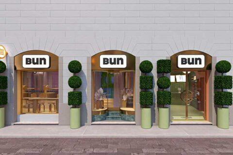 Νέο Bun Burgers στο Μιλάνο από την Masquespacio