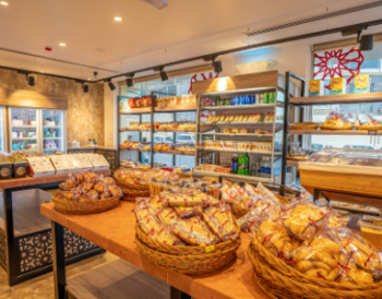 Modern Oman Bakery: Βραβείο Best Retail Interior Design